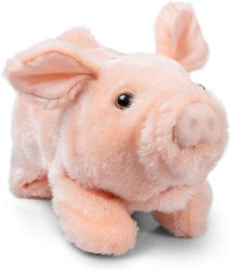 Peluche de cerdo de Tobar de 25 cm - Los mejores peluches de cerdos - Peluches de animales