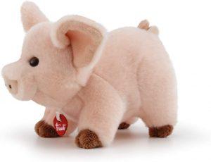 Peluche de cerdo de Trudi de 15 cm - Los mejores peluches de cerdos - Peluches de animales