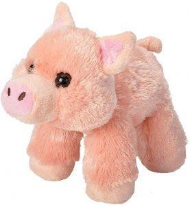 Peluche de cerdo de Wild Republic de 18 cm - Los mejores peluches de cerdos - Peluches de animales