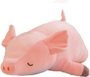 Peluche de cerdo de YunNasi de 70 cm - Los mejores peluches de cerdos - Peluches de animales
