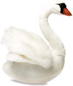 Peluche de cisne de HANSA de 32 cm - Los mejores peluches de cisnes - Peluches de animales