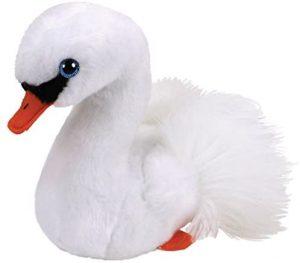 Peluche de cisne de Ty de 15 cm - Los mejores peluches de cisnes - Peluches de animales