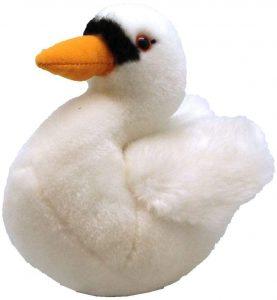 Peluche de cisne de Wild Republic de 15 cm - Los mejores peluches de cisnes - Peluches de animales