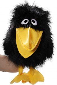 Peluche de cuervo de Carl Dick de 30 cm - Los mejores peluches de cuervos - Peluches de animales