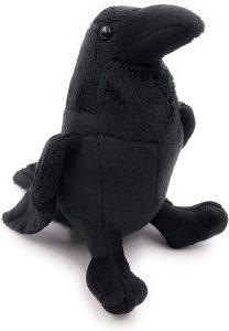 Peluche de cuervo de Onwomania de 16 cm - Los mejores peluches de cuervos - Peluches de animales