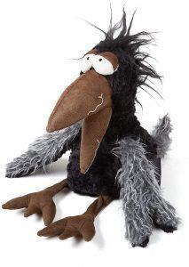 Peluche de cuervo de Sigikid de 37 cm - Los mejores peluches de cuervos - Peluches de animales