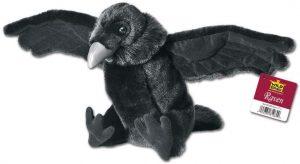 Peluche de cuervo de Wild Republic de 30 cm - Los mejores peluches de cuervos - Peluches de animales