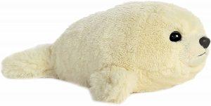 Peluche de foca de Aurora de 21 cm - Los mejores peluches de focas - Peluches de animales
