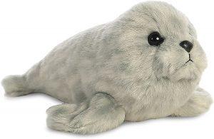 Peluche de foca de Aurora de 23 cm - Los mejores peluches de focas - Peluches de animales
