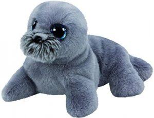 Peluche de foca gris de Ty de 15 cm - Los mejores peluches de focas - Peluches de animales