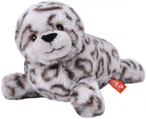 Peluche de foca gris de Wild Republic de 20 cm - Los mejores peluches de focas - Peluches de animales