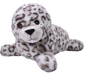 Peluche de foca gris de Wild Republic de 30 cm 2 - Los mejores peluches de focas - Peluches de animales