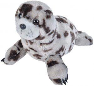 Peluche de foca gris de Wild Republic de 30 cm - Los mejores peluches de focas - Peluches de animales