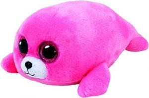 Peluche de foca rosa de Ty de 15 cm - Los mejores peluches de focas - Peluches de animales