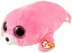 Peluche de foca rosa de Ty de 23 cm - Los mejores peluches de focas - Peluches de animales