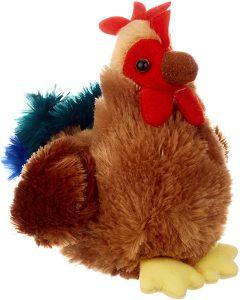 Peluche de gallina de Aurora de 15 cm - Los mejores peluches de gallina - Peluches de animales