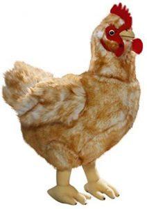 Peluche de gallina de Carl Dick de 35 cm - Los mejores peluches de gallina - Peluches de animales
