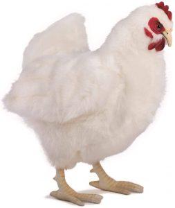 Peluche de gallina de Hansa de 30 cm - Los mejores peluches de gallina - Peluches de animales