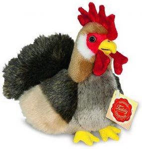 Peluche de gallina de Teddy Hermann de 17 cm - Los mejores peluches de gallina - Peluches de animales