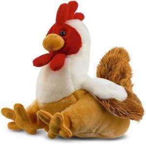 Peluche de gallina de Toyland de 22 cm - Los mejores peluches de gallina - Peluches de animales