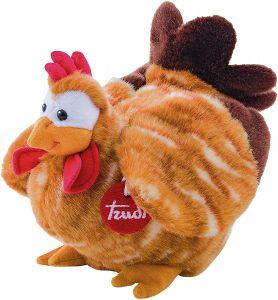 Peluche de gallina de Trudi de 25 cm - Los mejores peluches de gallina - Peluches de animales