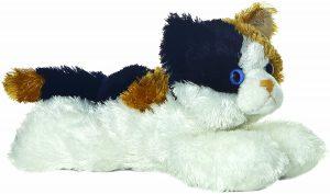 Peluche de gato gris Esmeralda de Aurora de 22 cm - Los mejores peluches de gatos - Peluches de animales