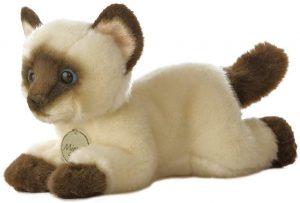 Peluche de gato marrón de Aurora de 15 cm - Los mejores peluches de gatos - Peluches de animales