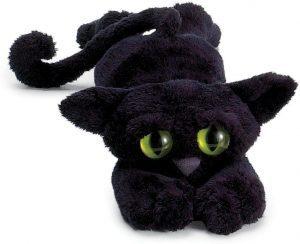 Peluche de gato negro de Manhattan Toy de 35 cm - Los mejores peluches de gatos - Peluches de animales