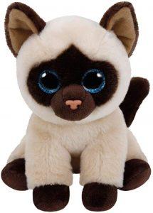 Peluche de gato siamés de Ty de 15 cm - Los mejores peluches de gatos - Peluches de animales