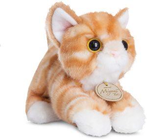 Peluche de gato tigre de Aurora de 20 cm - Los mejores peluches de gatos - Peluches de animales