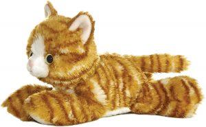 Peluche de gato tigre de Aurora de 21 cm - Los mejores peluches de gatos - Peluches de animales