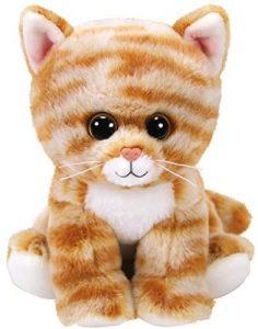 Peluche de gato tigre de Ty de 15 cm - Los mejores peluches de gatos - Peluches de animales