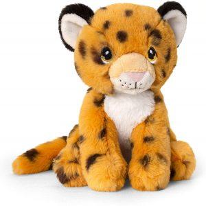 Peluche de guepardo de Keel Toys de 18 cm - Los mejores peluches de guepardos - Peluches de animales