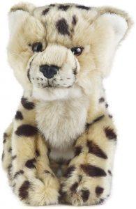 Peluche de guepardo de Living Nature de 25 cm - Los mejores peluches de guepardos - Peluches de animales