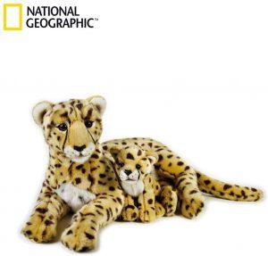 Peluche de guepardo de National Geographic de 50 cm - Los mejores peluches de guepardos - Peluches de animales