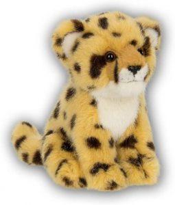Peluche de guepardo de WWF de 15 cm - Los mejores peluches de guepardos - Peluches de animales