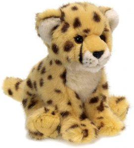 Peluche de guepardo de WWF de 19 cm - Los mejores peluches de guepardos - Peluches de animales