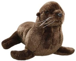 Peluche de león marino de Carl Dick de 20 cm - Los mejores peluches de leones marinos - Peluches de animales