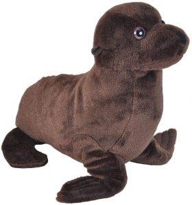 Peluche de león marino de Wild Republic de 35 cm - Los mejores peluches de leones marinos - Peluches de animales
