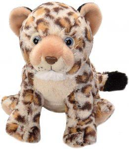 Peluche de leopardo de Wild Republic de 30 cm - Los mejores peluches de leopardos - Peluches de animales