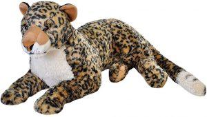 Peluche de leopardo de Wild Republic de 76 cm - Los mejores peluches de leopardos - Peluches de animales