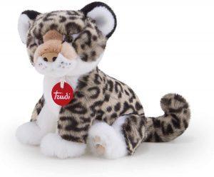 Peluche de leopardo de las nieves de Trudi de 24 cm - Los mejores peluches de leopardos - Peluches de animales