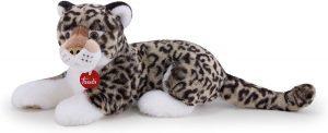 Peluche de leopardo de las nieves de Trudi de 45 cm - Los mejores peluches de leopardos - Peluches de animales