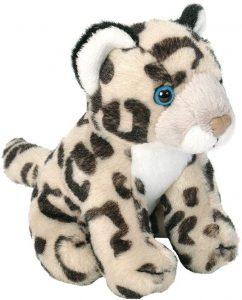 Peluche de leopardo de las nieves de Wild Republic de 15 cm - Los mejores peluches de leopardos - Peluches de animales