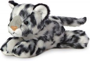 Peluche de leopardo de las nieves de Wild Republic de 20 cm 2 - Los mejores peluches de leopardos - Peluches de animales
