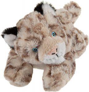 Peluche de leopardo de las nieves de Wild Republic de 20 cm 3 - Los mejores peluches de leopardos - Peluches de animales