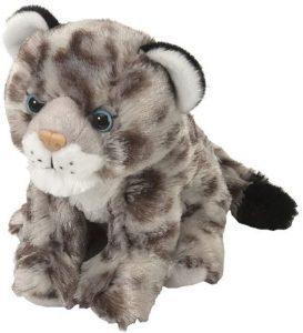 Peluche de leopardo de las nieves de Wild Republic de 20 cm - Los mejores peluches de leopardos - Peluches de animales