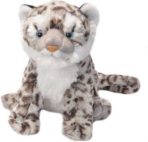 Peluche de leopardo de las nieves de Wild Republic de 30 cm - Los mejores peluches de leopardos - Peluches de animales