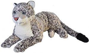 Peluche de leopardo de las nieves de Wild Republic de 76 cm - Los mejores peluches de leopardos - Peluches de animales