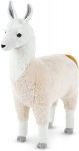 Peluche de llama de Melissa and Doug de 79 cm - Los mejores peluches de llamas - Peluches de animales